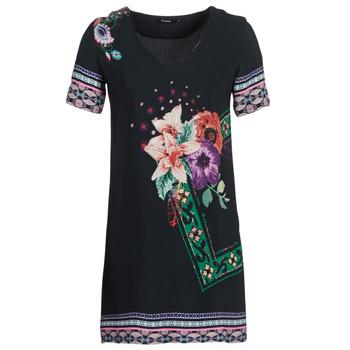 Textil Ženy Krátké šaty Desigual BARTA Černá