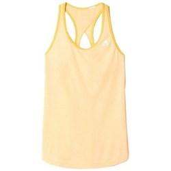 Textil Ženy Tílka / Trička bez rukávů  adidas Originals Keyhole Tank Oranžové