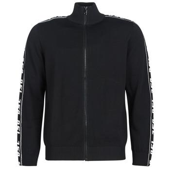 Textil Muži Svetry / Svetry se zapínáním Diesel K KER A Černá