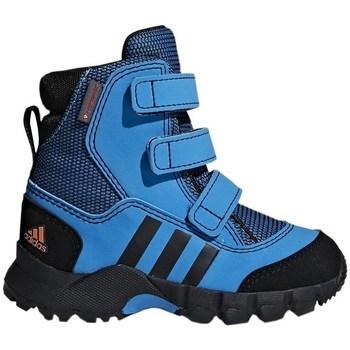 Boty Chlapecké Zimní boty adidas Originals CW Holtanna Snow CF Modré