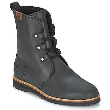 Lacoste Kotníkové boty BAYLEN 4 - Černá