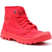 Boty Ženy Kotníkové tenisky Palladium Manufacture Mono Chrome 73089-600-M red