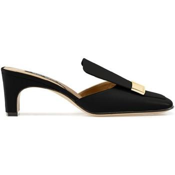 Boty Ženy pantofle Sergio Rossi A78000MNAN07110_1000 nero