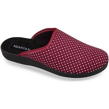Boty Ženy Papuče Mjartan Dámske papuče  ADEL 3 červená