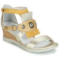 Boty Ženy Sandály Regard RUBIKA V3 VEL JAUNE Žlutá