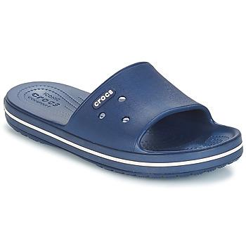 Boty pantofle Crocs CROCBAND III SLIDE Tmavě modrá / Bílá