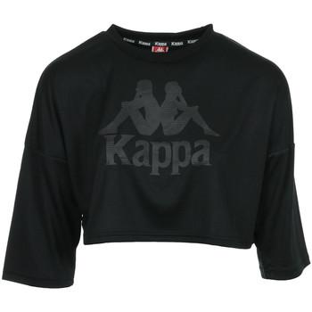 Textil Ženy Halenky / Blůzy Kappa Authentic Anak Černá
