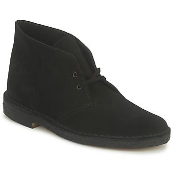 Clarks Kotníkové boty DESERT BOOT - Černá