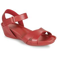 Boty Ženy Sandály Camper Micro Červená