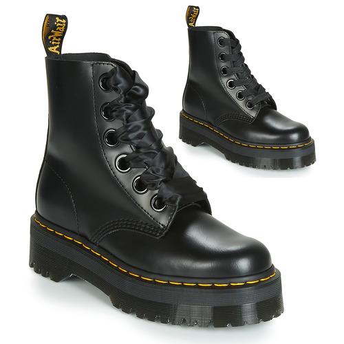 Boty Ženy Kotníkové boty Dr Martens Molly Černá