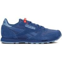 Boty Děti Nízké tenisky Reebok Sport Classic Leather Modré