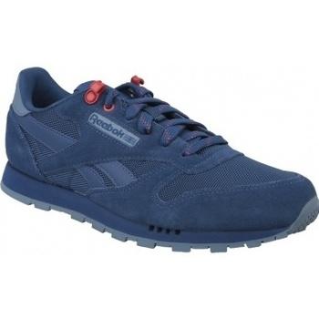 Boty Děti Multifunkční sportovní obuv Reebok Sport Classic Leather modrá