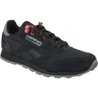 Boty Děti Multifunkční sportovní obuv Reebok Sport Classic Leather černá