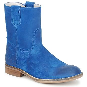 Boty Dívčí Kotníkové boty Hip DIRAN Modrá