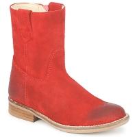Boty Dívčí Kotníkové boty Hip DIRAN Červená