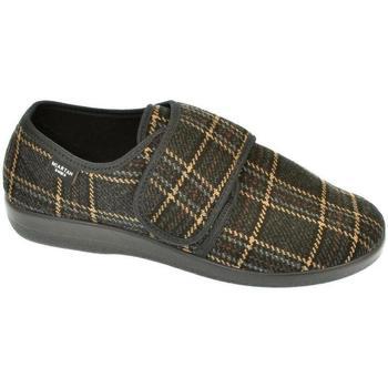 Boty Muži Papuče Mjartan Pánske papuče  ROMAN 3 hnedá