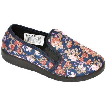 Boty Ženy Papuče Mjartan Dámske papuče  AGÁTA 8 tmavomodrá