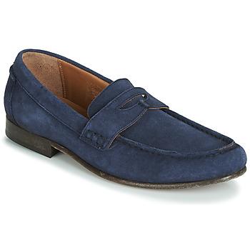 Boty Muži Mokasíny Hudson SEINE Modrá