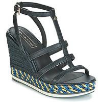 Boty Ženy Sandály Tommy Hilfiger VANCOUVER 7A Tmavě modrá