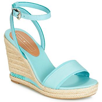 Boty Ženy Sandály Tommy Hilfiger ELENA 78C Modrá / Nebeská modř