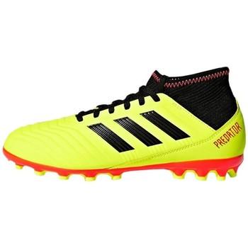 Boty Děti Fotbal adidas Originals Predator 183 AG J Žlutá