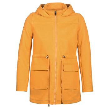 Textil Ženy Kabáty Moony Mood JANTO Žlutá