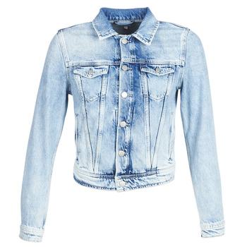 Pepe jeans Riflové bundy CORE - Modrá 9384bccc7a