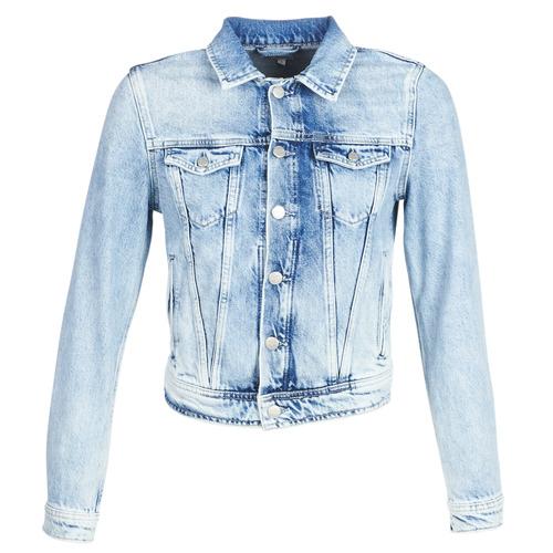 Textil Ženy Riflové bundy Pepe jeans CORE Modrá / Světlá