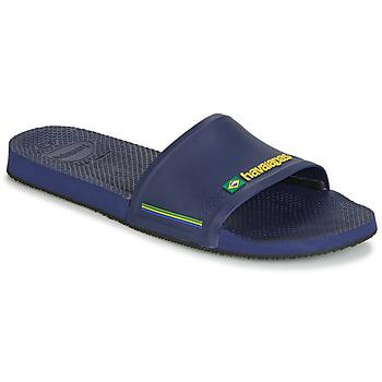 Boty Muži pantofle Havaianas SLIDE BRASIL Námořnická modř