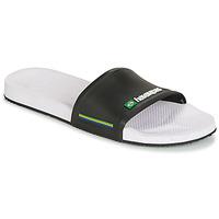 Boty Muži pantofle Havaianas SLIDE BRASIL černá - bílá