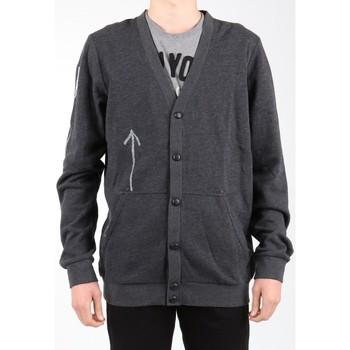 Textil Muži Svetry / Svetry se zapínáním Reebok Sport Bas Revenge SS Black K11904 grey