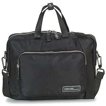 Taška Muži Tašky na dokumenty Calvin Klein Jeans PRIMARY 1 GUSSET LAPTOP BAG Černá
