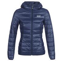 Textil Ženy Prošívané bundy Emporio Armani EA7 TRAIN CORE LADY LT DOWN JACKET Tmavě modrá