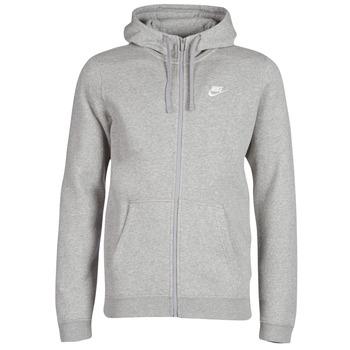 Textil Muži Mikiny Nike MEN'S NIKE SPORTSWEAR HOODIE Šedá