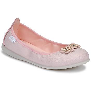 Boty Dívčí Baleríny  Citrouille et Compagnie JATAMAL Růžová