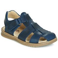 Boty Chlapecké Sandály Citrouille et Compagnie JALIDOU Modrá