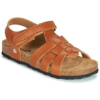 Boty Chlapecké Sandály Citrouille et Compagnie JANISOLERE Hnědá