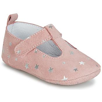 Boty Dívčí Papuče Citrouille et Compagnie JARI Růžová