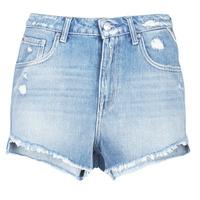 Textil Ženy Kraťasy / Bermudy Replay PABLE Modrá