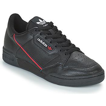 Boty Muži Nízké tenisky adidas Originals CONTINENTAL 80 Černá