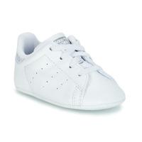 Boty Dívčí Nízké tenisky adidas Originals STAN SMITH CRIB Bílá