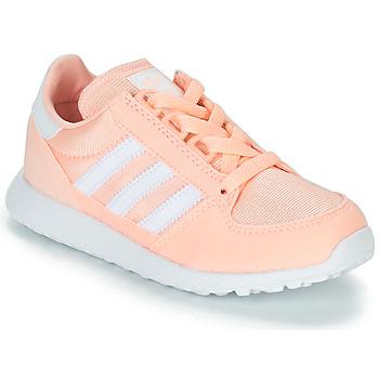 Boty Dívčí Nízké tenisky adidas Originals OREGON Růžová