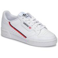 Boty Děti Nízké tenisky adidas Originals CONTINENTAL 80 J Bílá