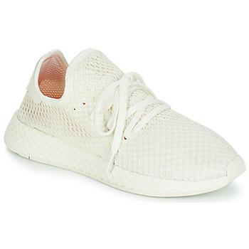 Boty Nízké tenisky adidas Originals DEERUPT RUNNER Bílá