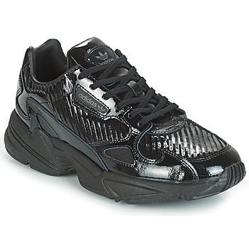 Boty Ženy Nízké tenisky adidas Originals FALCON W Černá / Třpytivý