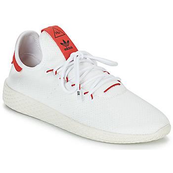 Boty Nízké tenisky adidas Originals PW TENNIS HU Bílá / Červená