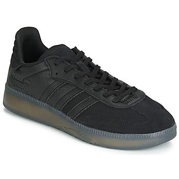 Boty Muži Nízké tenisky adidas Originals SAMBA RM Černá