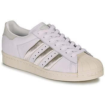 Boty Ženy Nízké tenisky adidas Originals SUPERSTAR 80s W Bílá / Béžová