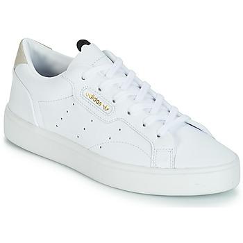 Boty Ženy Nízké tenisky adidas Originals adidas SLEEK W Bílá