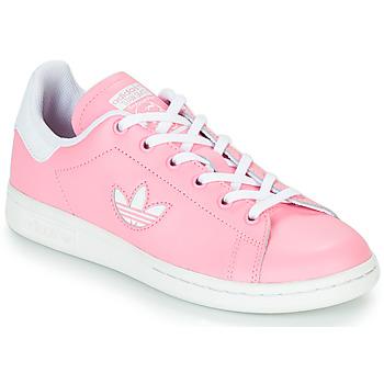 Boty Dívčí Nízké tenisky adidas Originals STAN SMITH J Růžová